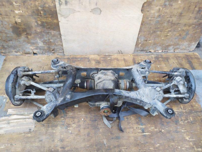 Балка подвески Toyota Crown GRS182 3GR-FSE задняя