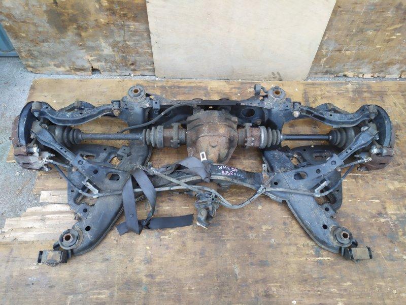 Балка подвески Nissan Stagea WHC34 RB20DE задняя