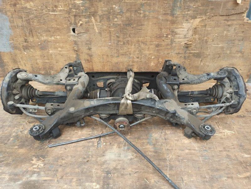 Балка подвески Toyota Mark Ii GX110 1G-FE задняя