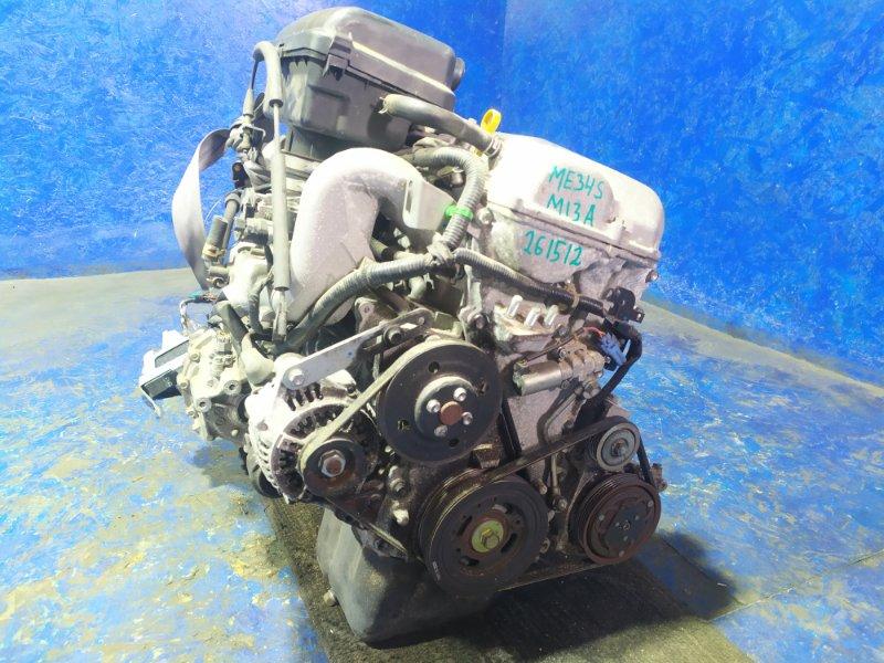 Двигатель Suzuki Chevrolet Mw ME34S M13A 2010