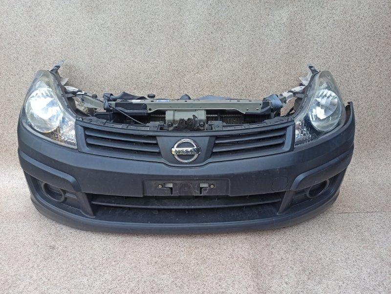 Nose cut Nissan Ad VY12 HR15DE 2012