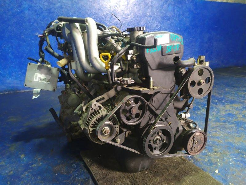 Двигатель Toyota Raum EXZ10 5E-FE 2002