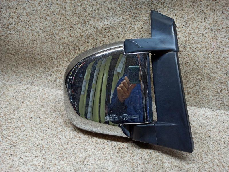 Зеркало Mitsubishi Delica PE6W 2006 переднее правое