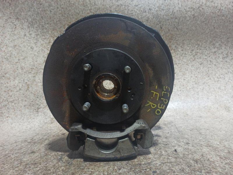 Ступица Toyota Vitz SCP90 2SZ-FE передняя правая