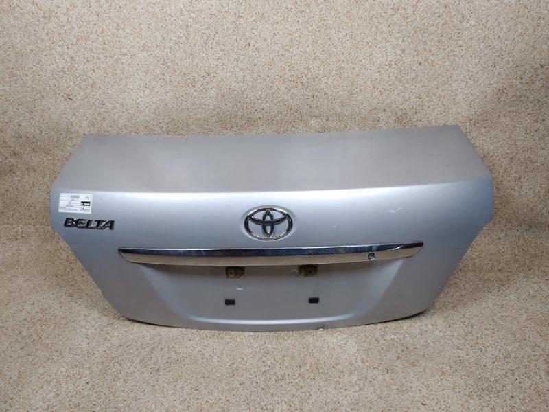 Крышка багажника Toyota Belta SCP92 2SZ-FE 2008