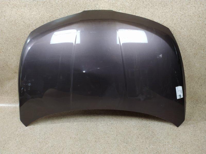 Капот Nissan Tiida C11 HR15DE 2009 передний