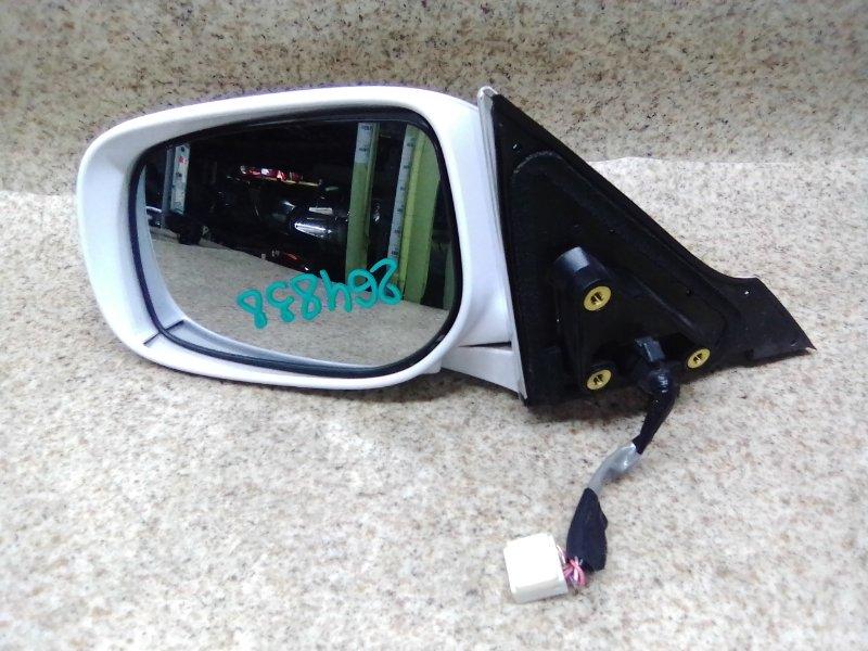Зеркало Toyota Mark X GRX120 2007 переднее левое