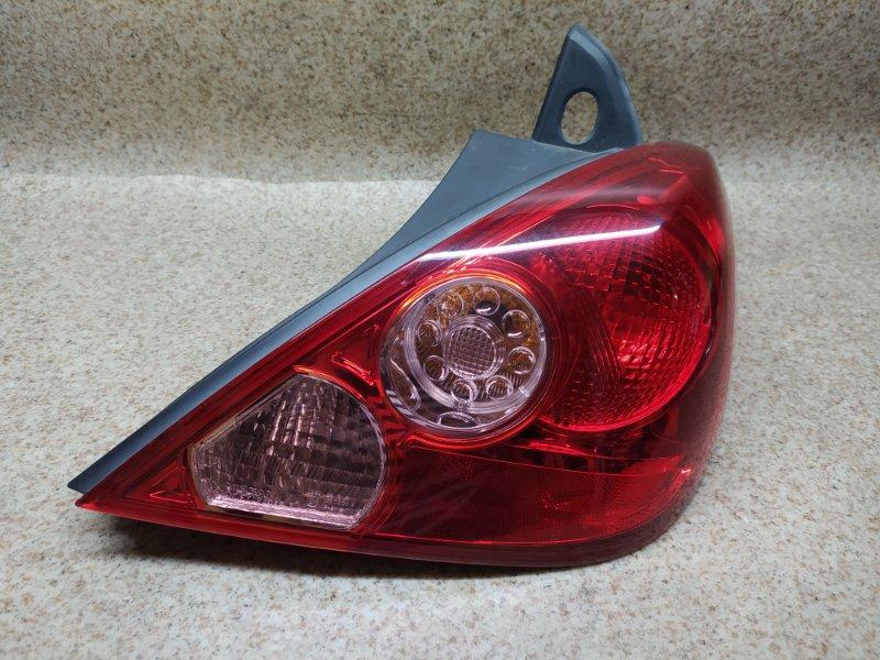 Стоп-сигнал Nissan Tiida C11 2007 задний правый
