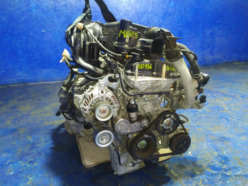 Двигатель Suzuki Spacia MK42S R06AT 2015