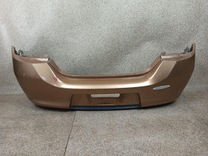 Бампер Nissan Tiida C11 2008 задний