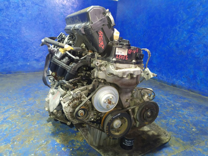 Двигатель Daihatsu Move Conte L575S KF-VE 2010