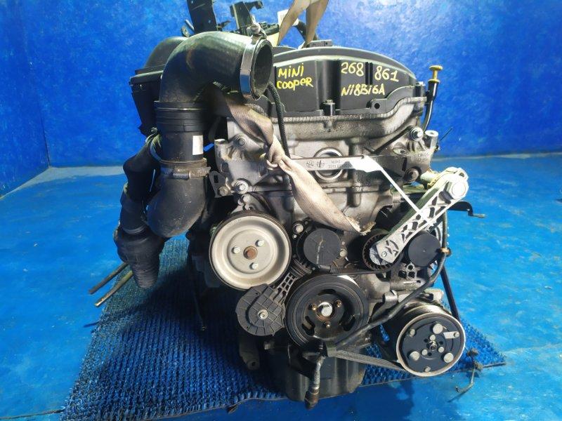Двигатель Mini Hatch R56 N18B16A 2009