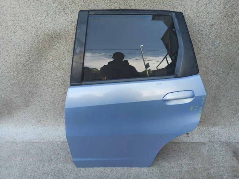 Дверь Honda Fit GE6 2008 задняя левая
