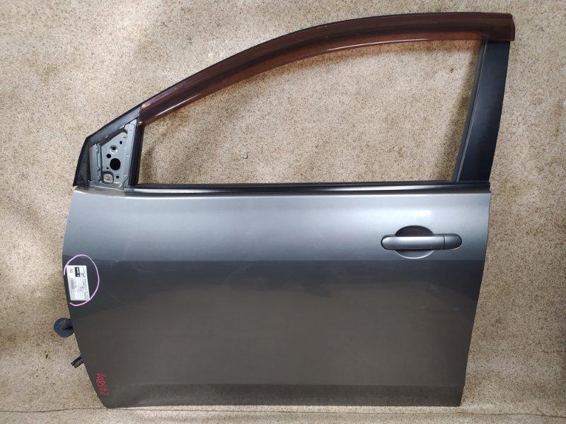 Дверь Nissan Wingroad NY12 2007 передняя левая