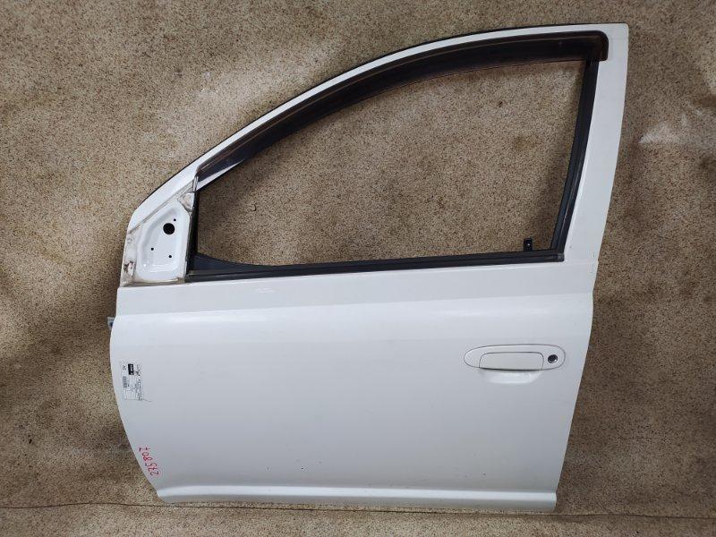 Дверь Toyota Vitz SCP10 2002 передняя левая