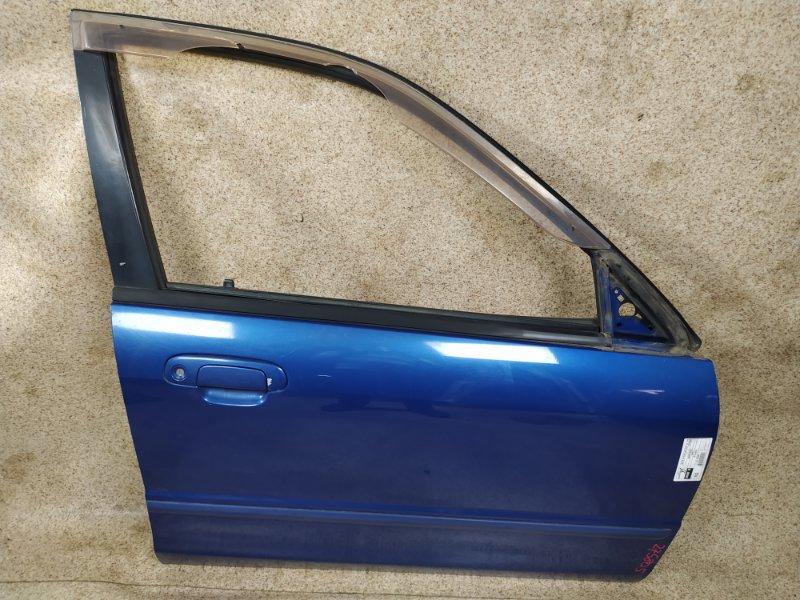 Дверь Mazda Familia BJ5W 2001 передняя правая