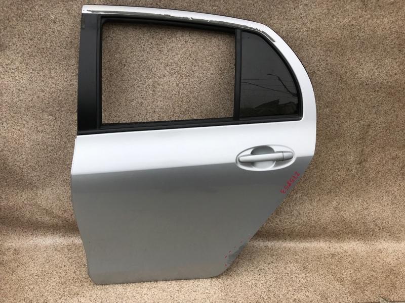 Дверь Toyota Vitz SCP90 2006 задняя левая