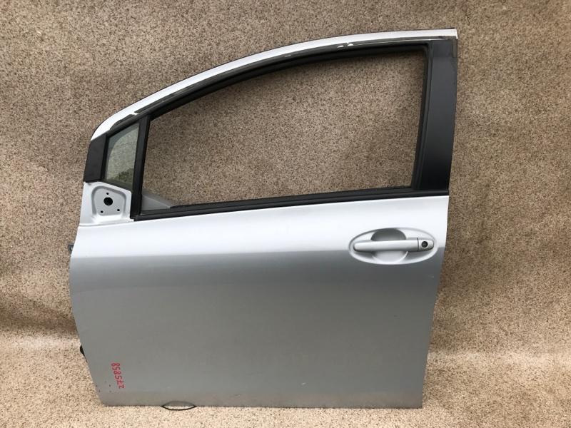 Дверь Toyota Vitz SCP90 2006 передняя левая