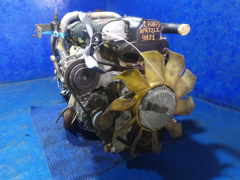 Двигатель Isuzu Elf NPR72LZ 4HJ1 2002
