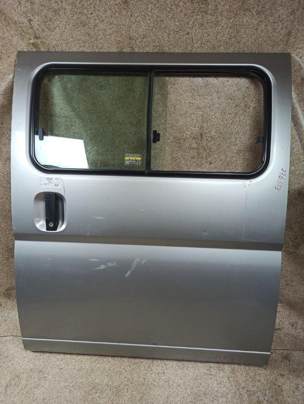 Дверь Nissan Caravan CQGE25 2004 задняя левая