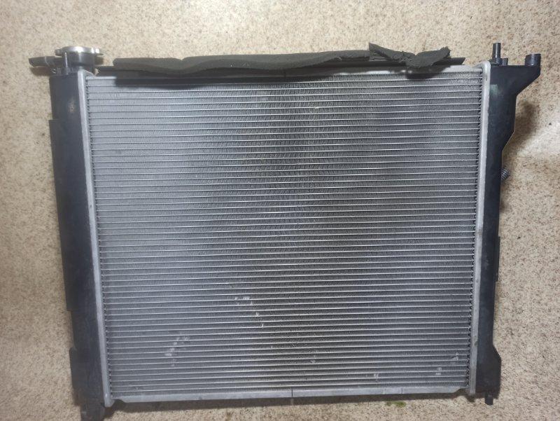 Радиатор основной Nissan Lafesta B30 MR20DE
