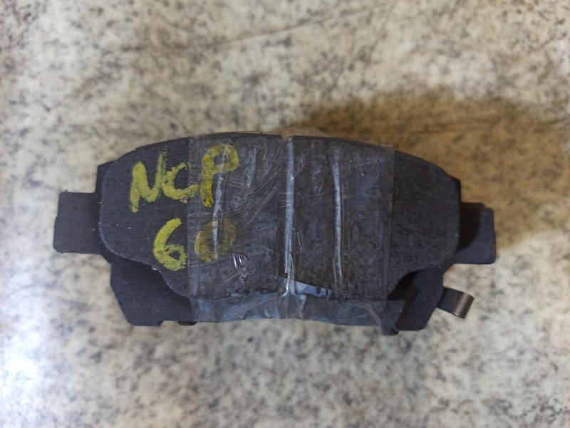 Тормозные колодки Toyota Ist NCP60 переднее