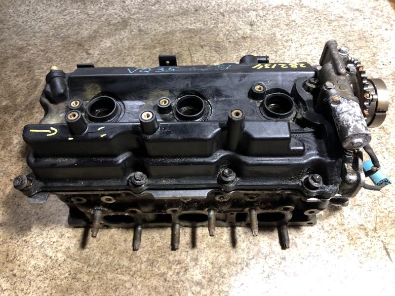 Головка блока цилиндров Nissan Elgrand NE51 VQ35 правая