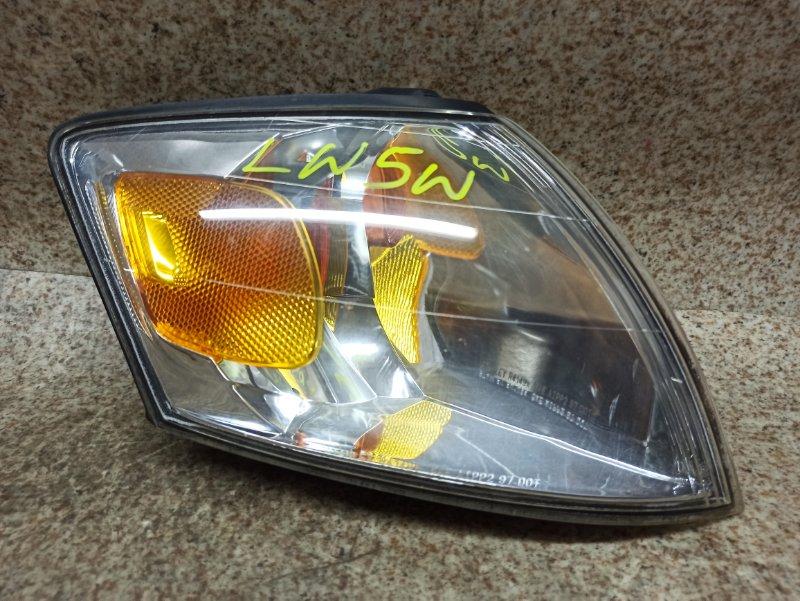 Габарит Mazda Mpv LW5W передний правый