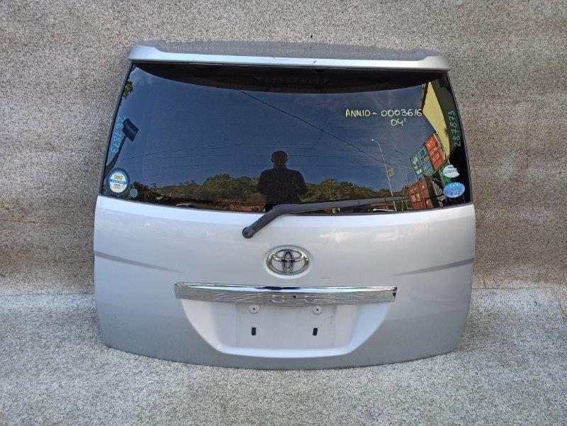Дверь задняя Toyota Isis ANM10 2006 задняя