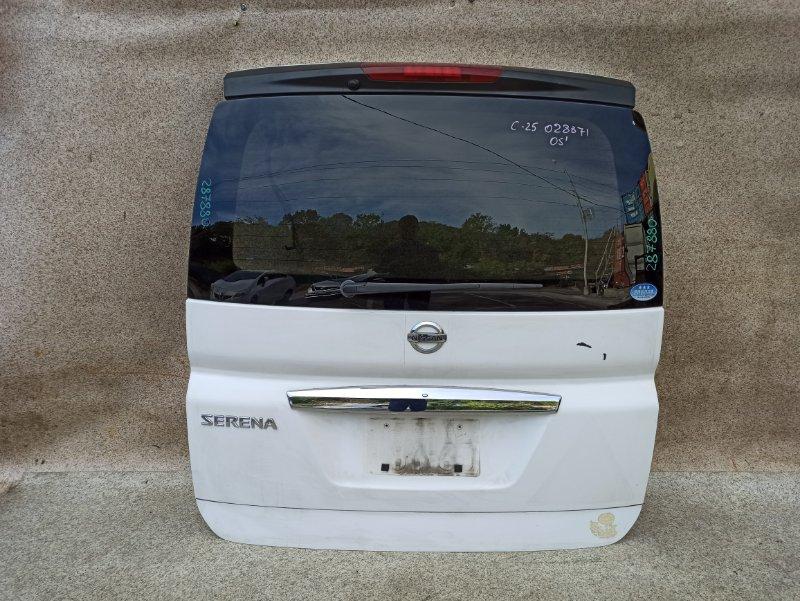 Дверь задняя Nissan Serena C25 2005