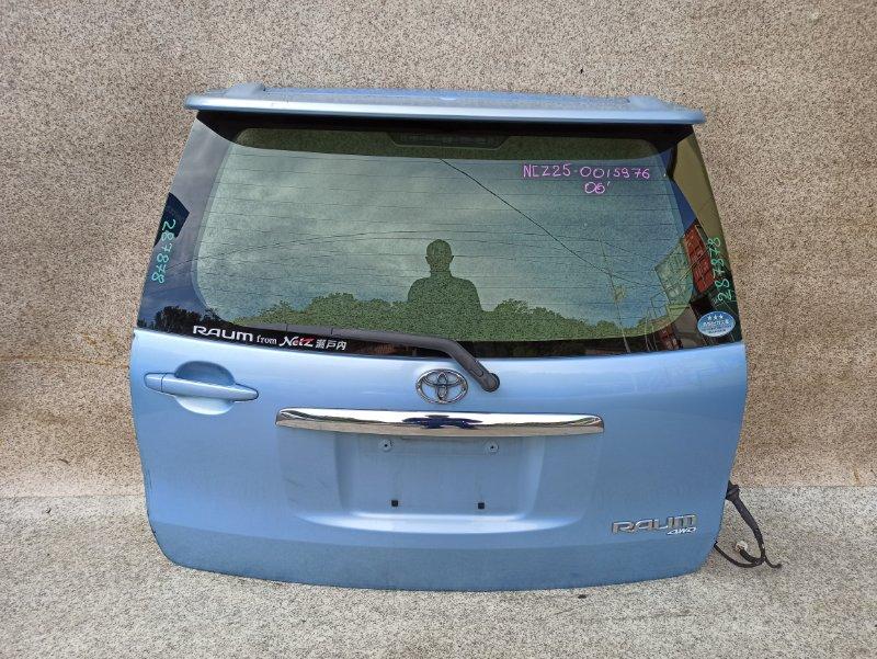 Дверь задняя Toyota Raum NCZ25 2006 задняя