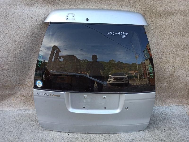 Дверь задняя Toyota Lite Ace Noah SR40 1999 задняя
