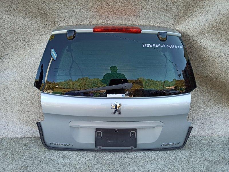 Дверь задняя Peugeot 207 WK