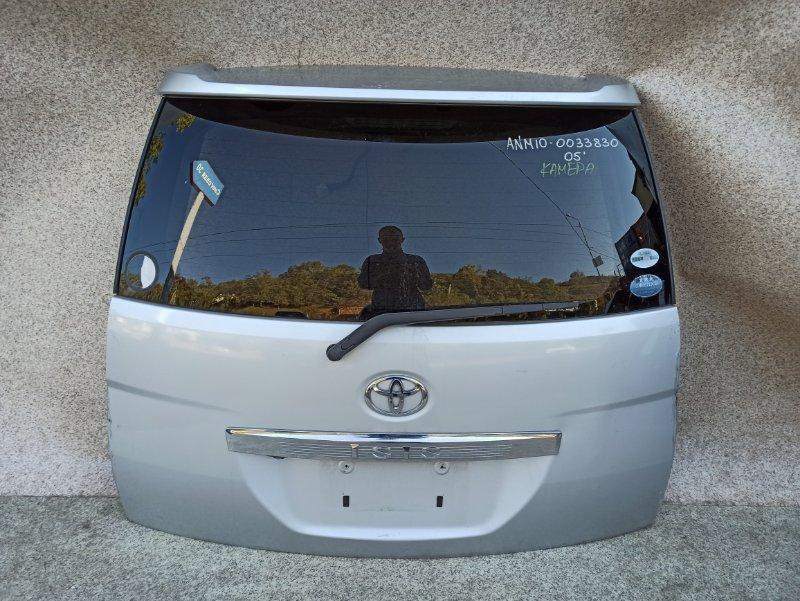 Дверь задняя Toyota Isis ANM10 2005 задняя