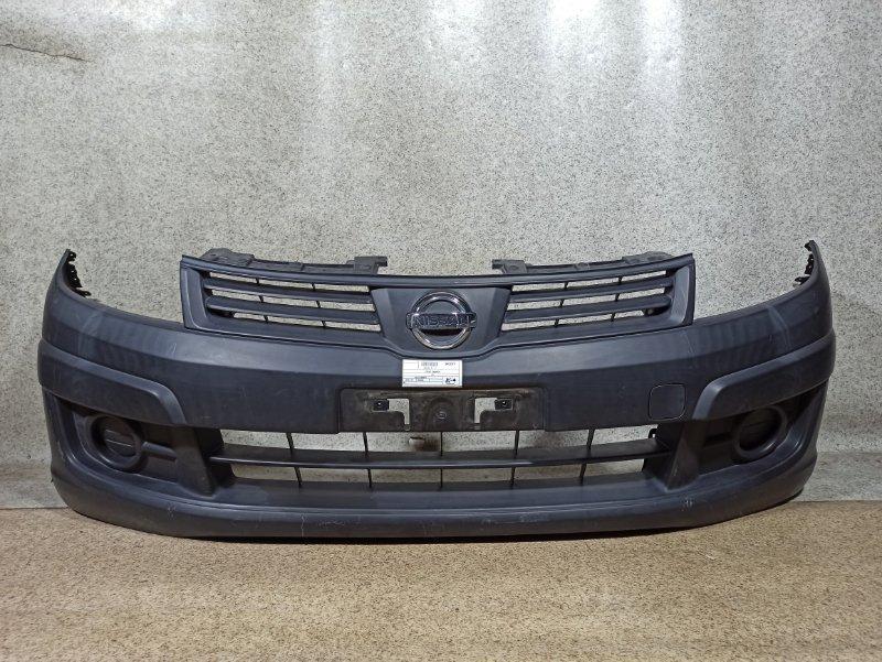 Бампер Nissan Ad VY12 2012 передний