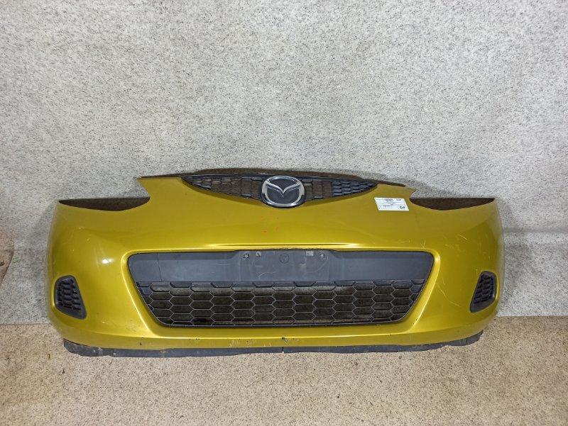 Бампер Mazda Demio DE3FS передний