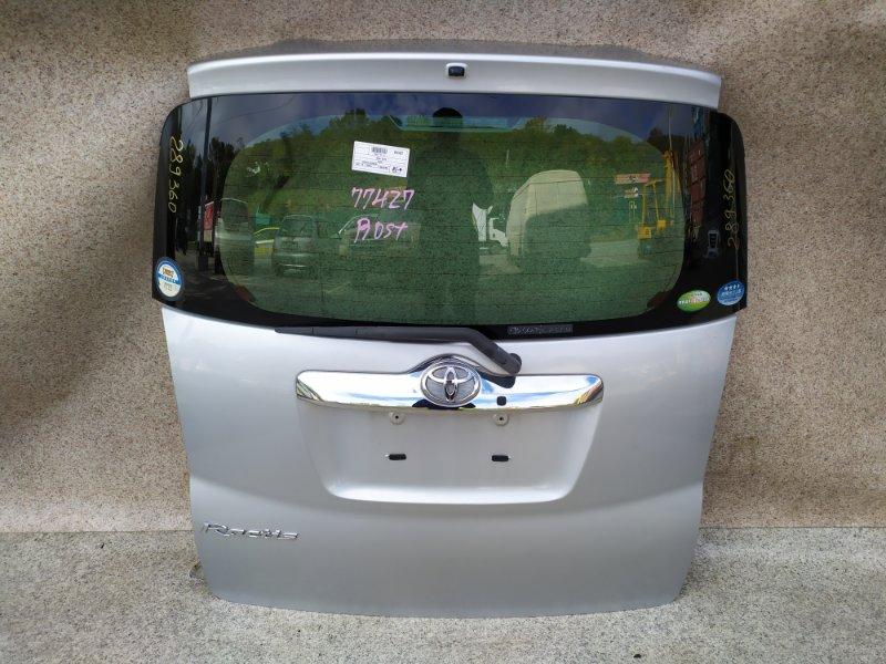 Дверь задняя Toyota Ractis SCP100 2007