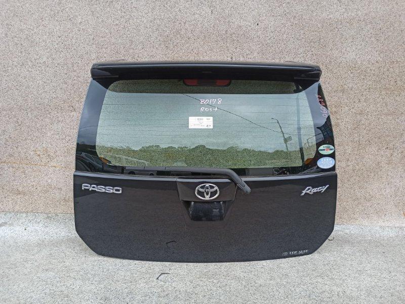 Дверь задняя Toyota Passo QNC10 2006