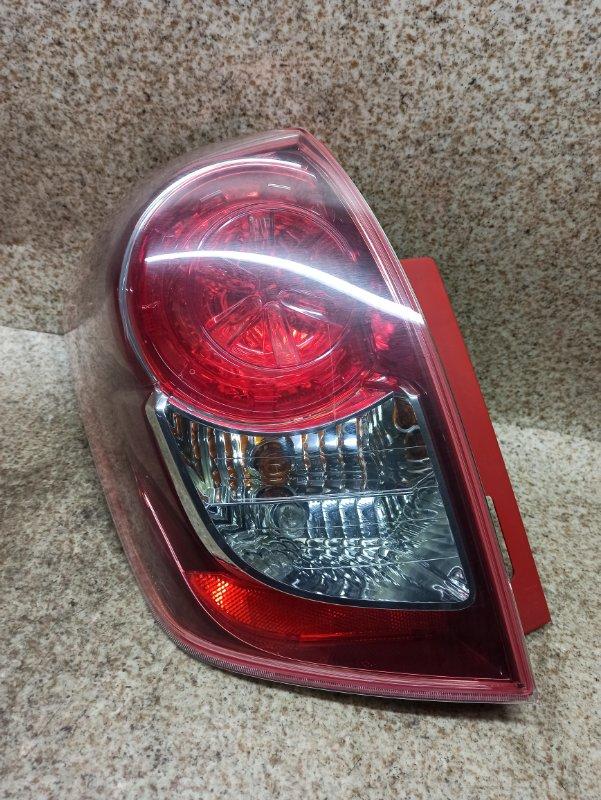 Стоп-сигнал Toyota Ractis NCP100 1NZ-FE 2008 задний левый
