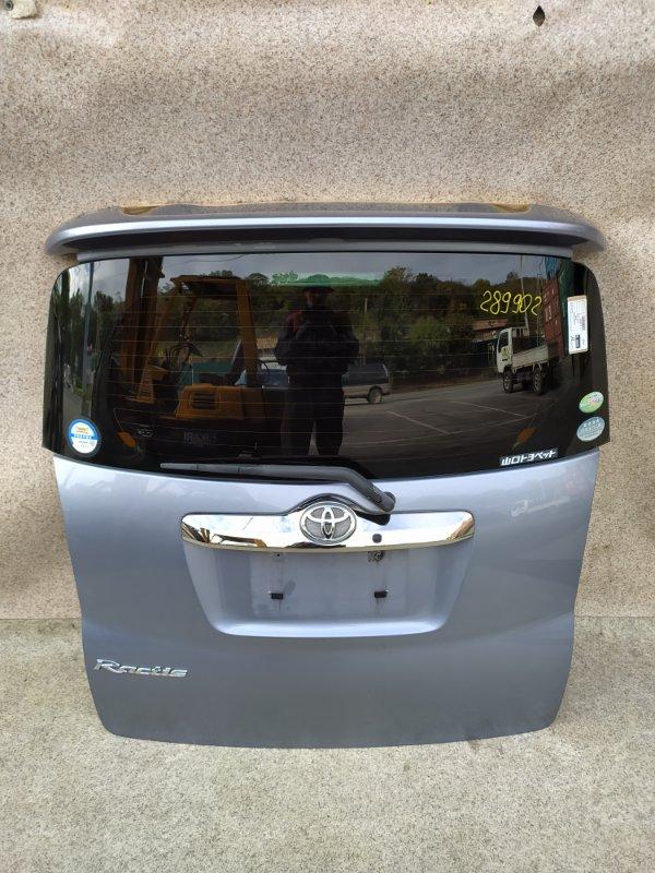 Дверь задняя Toyota Ractis SCP100 2008