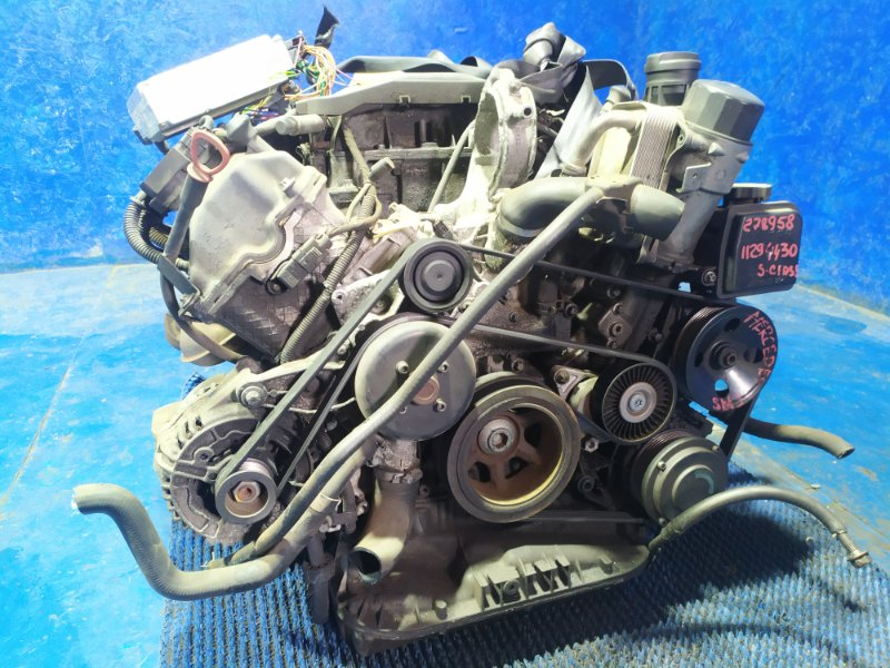Двигатель Mercedes-Benz S-Class W220 M112E32 1999