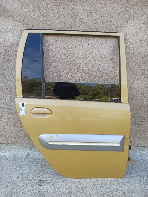 Дверь Mitsubishi Toppo Bj H43A 1998 задняя правая