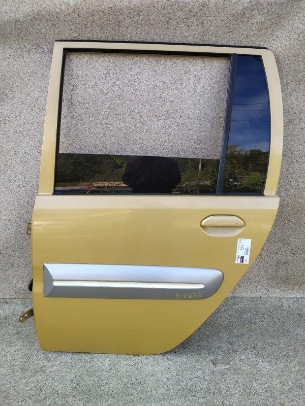 Дверь Mitsubishi Toppo Bj H43A 1998 задняя левая