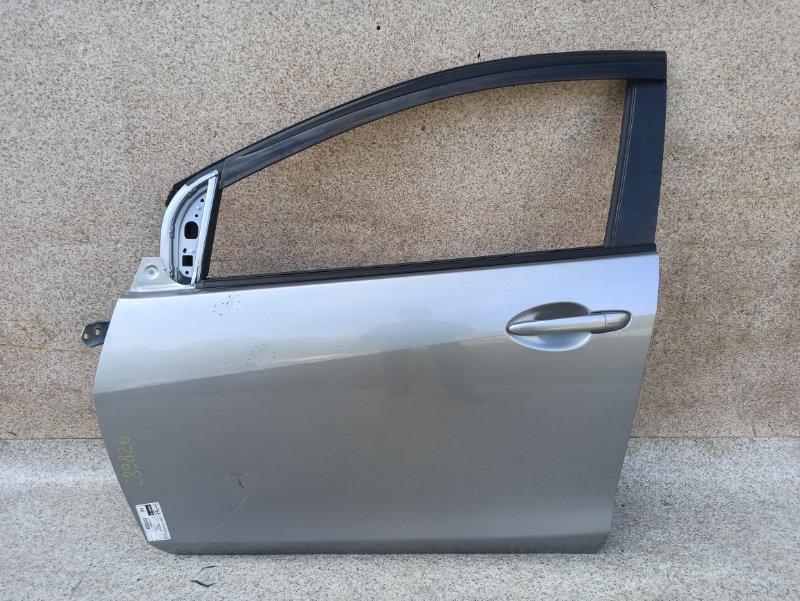 Дверь Mazda Demio DE3FS 2012 передняя левая