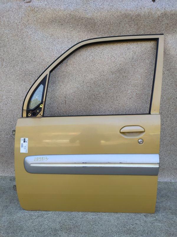 Дверь Mitsubishi Toppo Bj H43A 1998 передняя левая