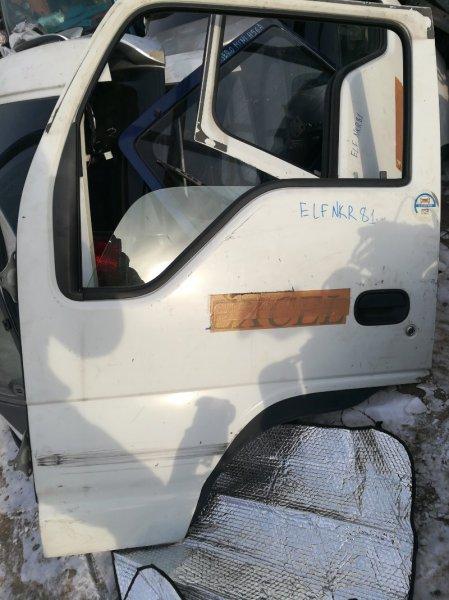 Дверь Isuzu Elf NKR81 4HL1 2006 передняя левая