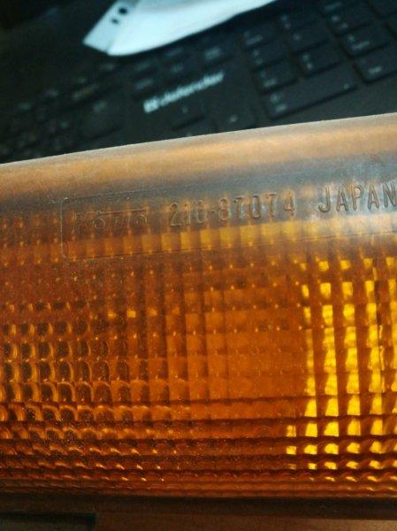 Повторитель поворота Mitsubishi Canter FB51AB 1999 передний правый