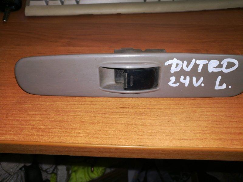 Кнопка стеклоподьемника Hino Dutro XZU311 S05D левая