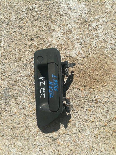 Ручка двери внешняя Mazda Titan SY56T WL левая