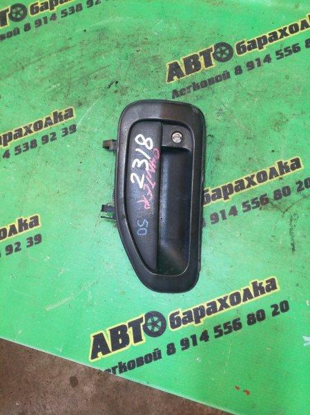 Ручка двери внешняя Mitsubishi Canter FE83 4M50 левая
